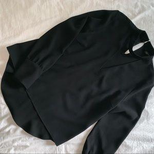 Zara scoop neck blouse